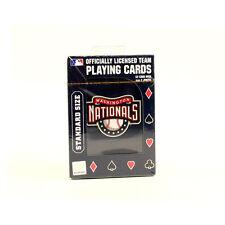 Washington Nationals Playing Cards
