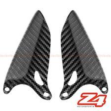 Ducati 848 1098 1198 Rearset Foot Peg Mount Heel Guard Plate Cover Carbon Fiber