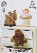 Holiday Christmas/Toys Crocheting & Knitting Patterns