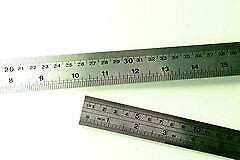 Stainless Steel Ruler - 45cm (18 inch) length