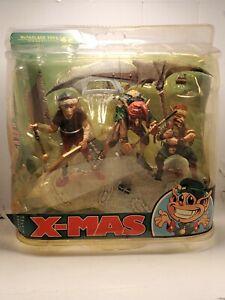 McFarlane Toys Twisted X-Mas Santa's Little Helpers Action Figure Christmas Rare