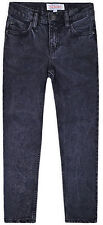 Boys Jeans Boy Denim Slim Stretch Trousers New Casual Black Pants 7 - 16 Years
