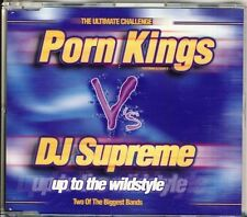 Porno Kings V 'S DJ Supreme-up to the Wild Style 3trk CD MAXI 1998