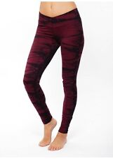 NUX USA LEGGING V-ANKLE PANTS  Tie Dye Size X-SMALL P068 Active wear NWT
