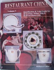 VINTAGE RESTAURANT DINNERWARE PRICE GUIDE COLLECTORS BOOK railroad airline ship