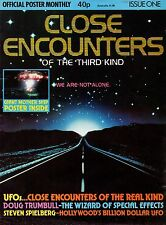 Close Encounters of the Third Kind Official Poster Monthly Magazine Issue One