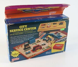 Vintage NOS 1987 Galoob Micro Machines City Service Center #6408 Complete in Box