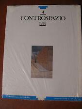 CONTROSPAZIO n°4/89-Riv.architettura- nuova- Gabetti/Isola/Zagari/Sartoris....