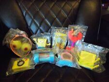 Spongebob Squarepants Lot of 8 Sealed Burger King Meal Toys Squidward 2011 BK