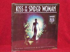 OST LP KISS OF THE SPIDER WOMAN JOHN NESCHLING WALLY BADAROU 1985 ISLAND SEALED