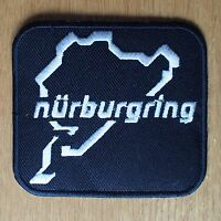 Motorcycle Biker Cloth Patch Leathers Suzuki Yamaha Kawasaki Honda NURBURGRING
