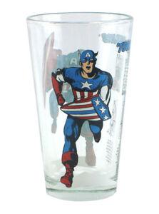Captain America Toon Tumblers 2009 SDCC Comic Con Exclusive 16oz Pint Glass