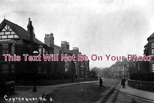 CH 388 - Canterbury Road, Wallasey, Wirral, Cheshire c1912 - 6x4 Photo