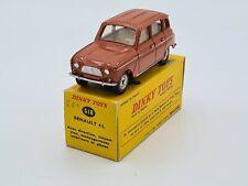 DINKY-F518RENAULT 4 brick w/ original box  - NO ATLAS