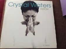 "Crystal waters - relax, excellent condition 12"" vinyl us import"