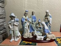 Nativity Set 9 Pcs Porcelain
