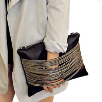 women leather handbags and purses party black evening clutch bags for women 2020