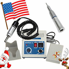 USA! Dental Lab Marathon Electric Micro Motor Low Speed Straight Handpiece BF1