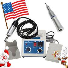 USA! Dental Lab Marathon Electric Micro Motor Low Speed Straight Handpiece 3NUSA