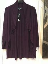 Women's Day night Chruch Fall Summer Cascading Open front Cardigan jacket plus2X