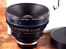 Zeiss 25mm T2.9 Distagon T* CP.2 Compact Prime EF Mount (feet) Lens