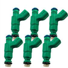 6x OEM 0280155863 Bosch Fuel Injectors For 2000-2007 Jaguar S-Type 3.0L V6