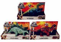 Jurassic World Dinosaurier Spielfiguren für Kinder, mit Angriffsfunktion, 36 cm