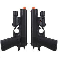 2 x UKARMS M1911 SPRING AIRSOFT HAND GUN PISTOL w/ LASER SIGHT 6mm BBs BB Black