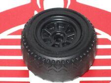 GI Joe Vehicle Thunder Machine Front Wheel w Tire 1986 Original Part