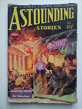 Astounding Stories December 1933 Vol XII. # 4 vintage pulp fiction comic