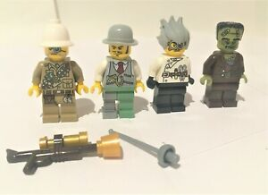 Lego Monster Fighters minifigures x4 from set #9466