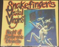 SNAKEFINGER night of desirable objects EUROPE CD new sealed THE RESIDENTS