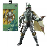 Star Wars The Mandalorian Black Series Carbonized Boba Fett 6-Inch Action Figure