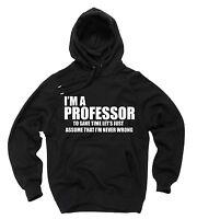 I Am A Professor Hoodie Gift For Teacher Professor Hooded Sweatshirt Sweater