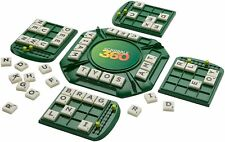 Scrabble 360 Crossword Mattel Game Spin & Spell Words 2-4 Players NEW Gift