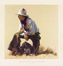 Partnership by William Matthews Western Print 28x29
