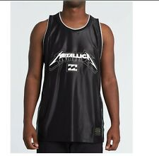 New Large Billabong Metallica AI Jersey Tank