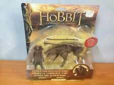 The Hobbit Action Figure Fimbul the Hunter & Warg - MOSC