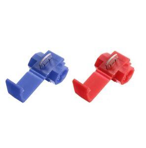 10 à 100 RACCORD INSTANTANE connecteur rapide électrique clipsable quick-lock