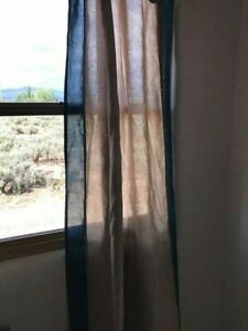 VILLA Linen Curtain Panels