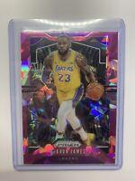2019-20 Lebron James Prizm Pink Cracked Ice - Lakers Uniform - Psa 10? Fmvp?
