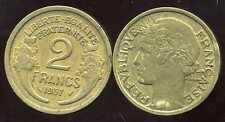2  francs   MORLON  1937  ( bis )