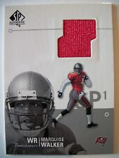 2002 SP AUTHENTIC JERSEY CARD , MARQUISE WALKER , BUCS !! BOX 8