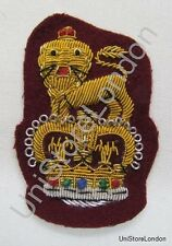 General Staff Officer Cap Badge Maroon R1104