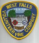 "West Falls - 1919  Fire Dept., New York (4"" x 4"" size)  fire patch"