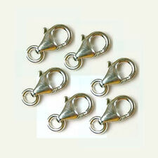 10x 11mm 925 Sterling Silver Trigger Lobster parrot  Clasps medium closure F28