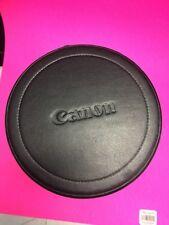 """Canon LH-D26 Black hard Lens Case 10"""" tall x5.5"""" for 70-200mm f2.8 L USM EF lens"""