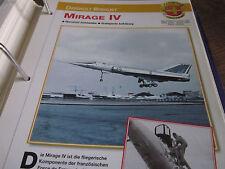Faszination 4 42 Dassault Breguet Mirage IV Bomber