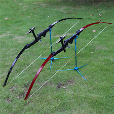 30lbs Straight Bow Longbow Hunting CS Arrow Shooting Practice Athletics Install