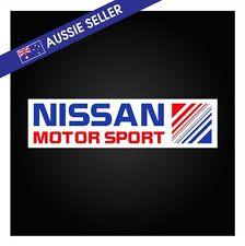 Nissan Motor Sport Sticker 20cm R31 R32 R33 DR30 Gibson Skyline HR31 Racing GTSR
